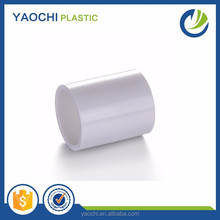 have all size pvc fitting ASTM SCH40 white coupling