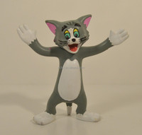 Custom cat bendable toys,OEM bendy bendable toy figure for kids