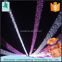 12-240V Holiday Chirstmas Indoor outdoor Christmas decoration RGB LED String Light for wedding