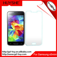 HUYSHE Mobile phone use tempered glass screen gurads for samsung galaxy s5mini clear tempered glass screen protector