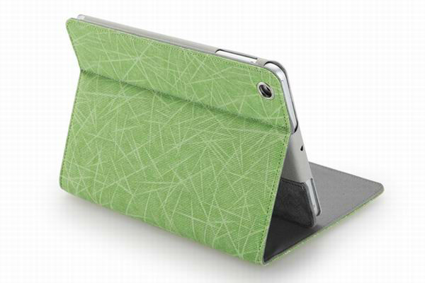 Fresh Green canvas case for ipad mini ,Favorable canvas case for ipad mini