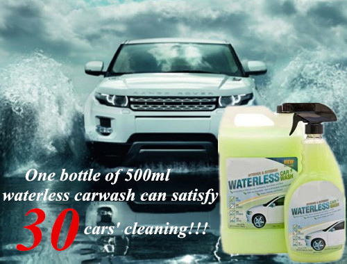 car quick cleaner waterless car wash for Bio-Degradable Car Wash