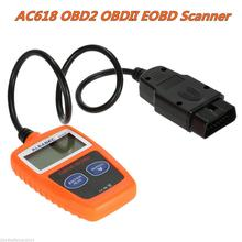 AC618 OBDII Scanner Code Reader CAN OBD2 Scan Autos Diagnostic Professional Tool