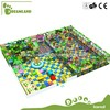 big geocells rubber covered indoor playground soft playground
