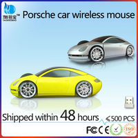 2.4ghz cool wireless optical car computer mouse