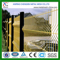 China Hot Sale Wire Mesh Fence/Black Vinyl Picket Fence