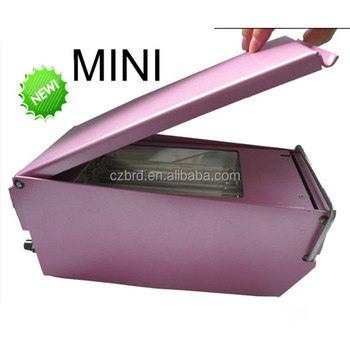 mini style flash stamp machine(easy operate)