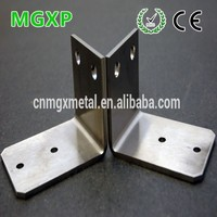 China Manufacture High Quality Stainless Steel L Shaped Shelf Brackets