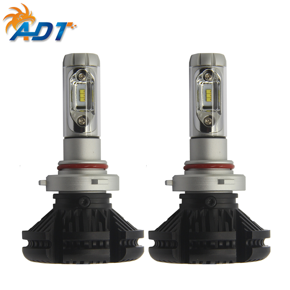 ADT Hight quality fanless H7 auto car led <strong>bulbs</strong> x3 auto <strong>headlights</strong> led <strong>headlight</strong> H7
