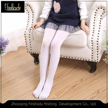 White pantyhose tights kid student stockings