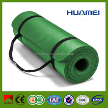 15mm Thickness Resilient Exercise custom printed yoga mats
