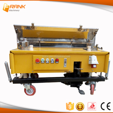 Construction machinery wall rendering prices/rendered wall plastering machine