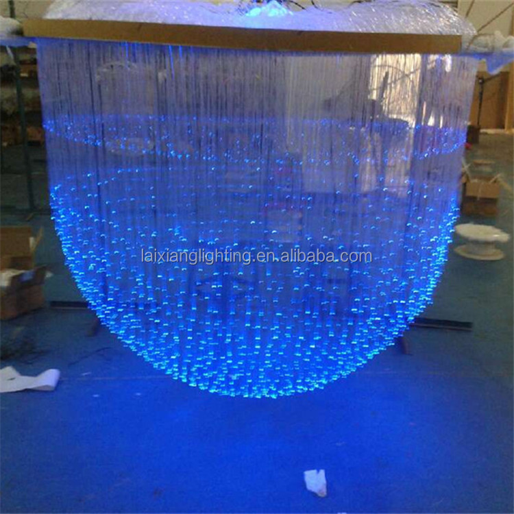 2017 Yiwu China Hotel project chandelier Factory wholesale Smart colour changing led ball lights with Low MOQ