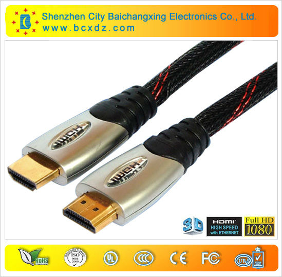 high speed 1.4V 1080p 24k gold plated scart to hdmi cable male to male