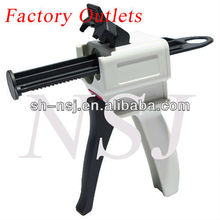 50ml 4:1/10:1 Dental Dispenser, Dental Caulking Gun for dispensing dental temporary crown&bridge materials