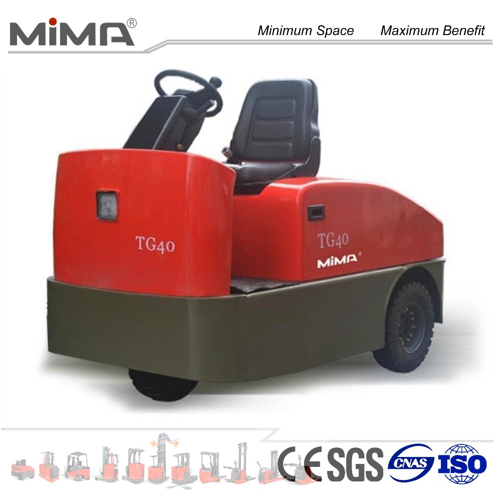 AC motor driving 2T--6T electric tow tractor wth CE certification TG