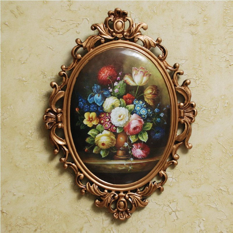 Hot selling product 2018 home decoration art and craft painting decorative images of handmade wall hanging