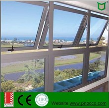 Factory direct aluminum windows and doors, Vertical Opening Top Hung Windows awning windows with low price and high quality