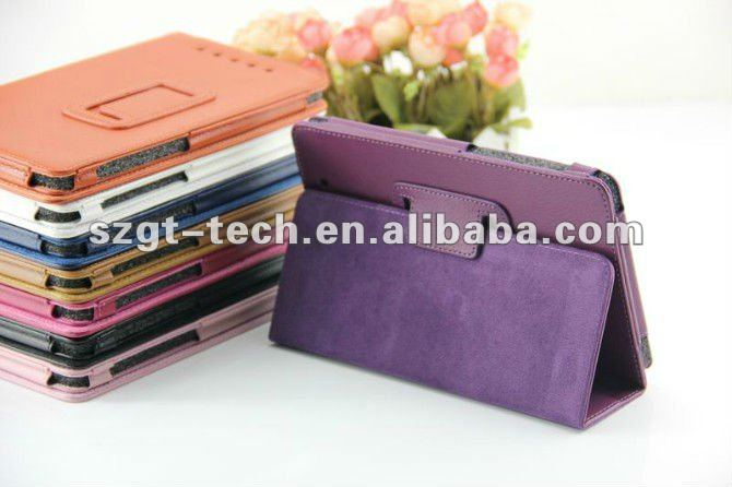 Fashion PU leather for google nexus 7 tablet case, for google nexus 7 tablet stylish cover case