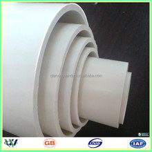 factory price customized pvc decorative pipe cover 150mm