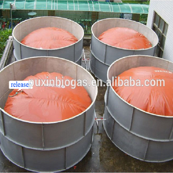 PVC and Red Mud Reinforced Plastic Material Biogas Storage Bag