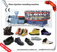 full automatic rotary injection sport shoe making machine