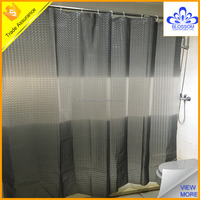 Wholesale 3d PEVA color changing shower curtain