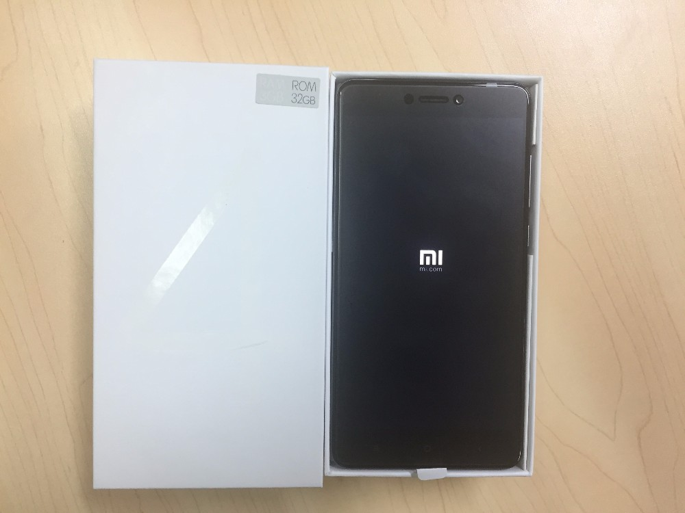 Global Version Xiaomi Redmi Note 4 Mobile Phone 5.5inch 1920X1080 3G 32GB Snapdragon 625 Octa Core 13.0Mp MIUI 8.1