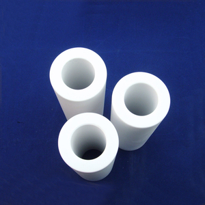 Factory price refractory industrial alumina electrical insulation ceramic tubes