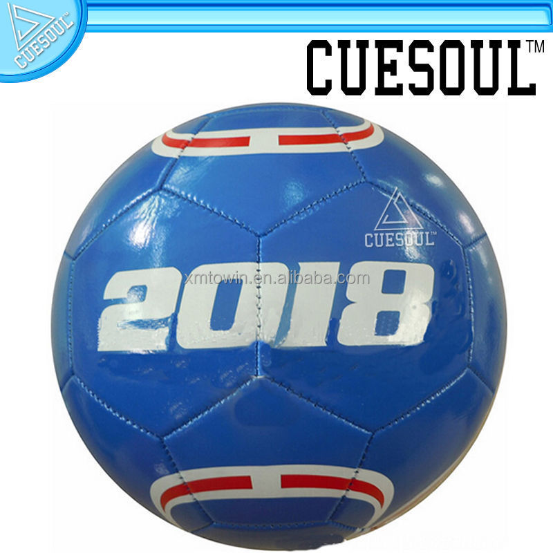 Cuesoul football,Custom-made PVC machine stitched soccer 2# ,5 #promotion of football