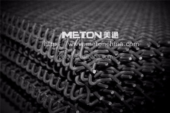 Crimped Steel Wire Woven Mesh for Mining Vibrating Screen