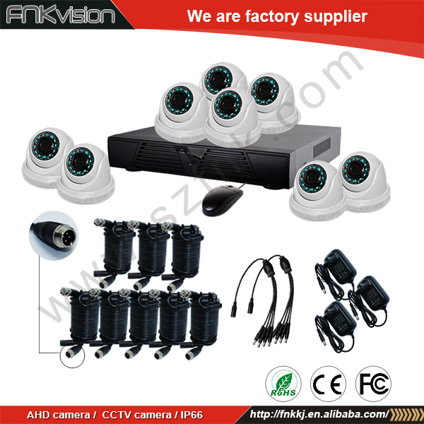 Home Security Camera System Digital Video Recorder CCTV DVR Kit