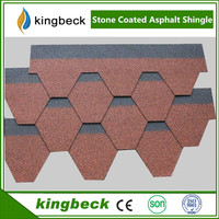 Kingbeck red asphalt roofing shingles manufacturer