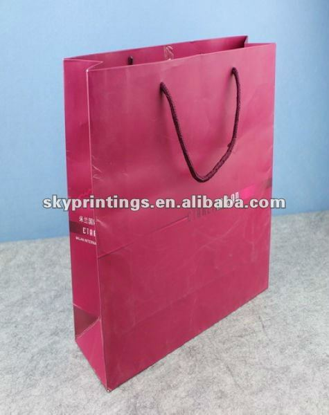 Milan apparel paper bag