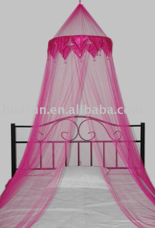 beaded mosquito net