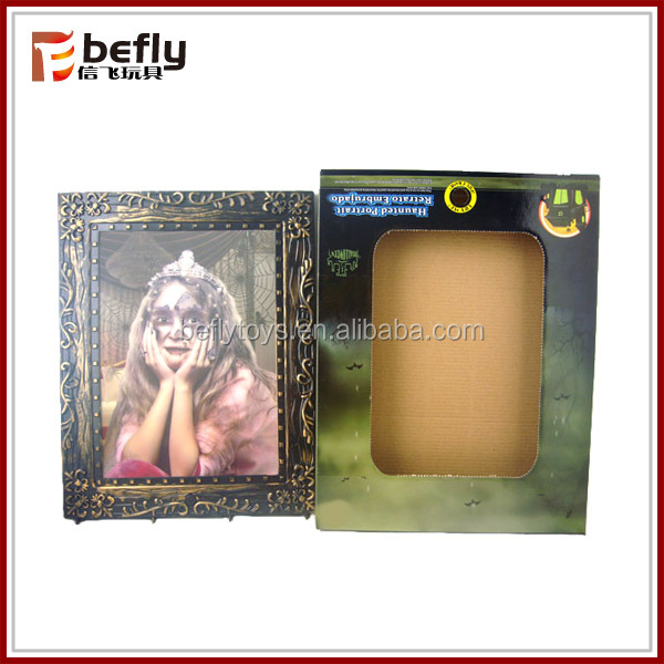High quality photo halloween frames with female voice
