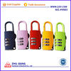 9983 Colorful Zinc Alloy Luggage Padlock For Bag and Trolley Case