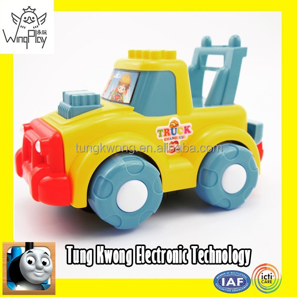 Toys for kids cheap battery operate plastic toy trucks for sale