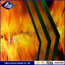 High Qulity Tempered Glass Professional Safety Heat Resistant Fire Proof Glass