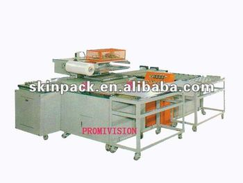 Fully automatic circular flow skin packaging machine (model PV-5580H)