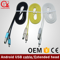 DongGuan factory manufacturer certified micro usb cable input color code