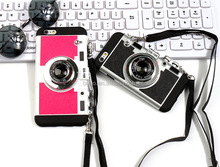China Supplier Camera Mobile Phone cases Silicone Cover Case For 6Plus creative case