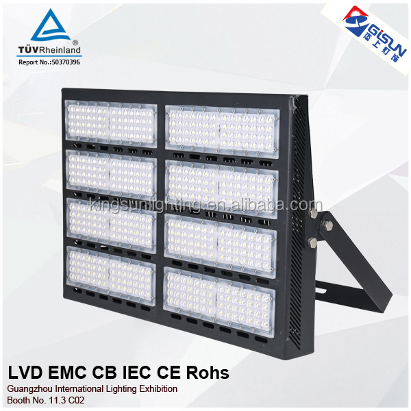 High lumen 400w IP66 stadium led flood light comparable 1000 <strong>w</strong> for sports filed