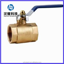 male/female high quality with long iron handle brass ball valve CE approved
