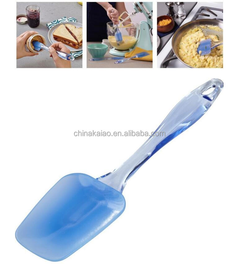 Safe tool pizza spatula PP silicone