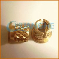 china supplier fitting insulate copper tube with brass nuts