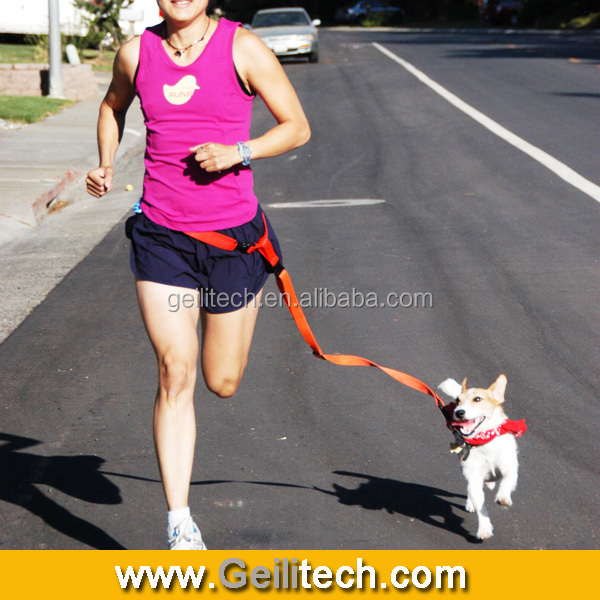 Wholesale Handfree Dog Leash lead leash for walking dogs