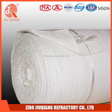 High Temperature thermal insulating ceramic fiber fabric