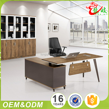 Fine Workmanship High End Sedate Style Executive Manager L-Shaped Table Desk Office Furniture