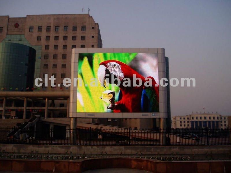 Newest design DIP P10 outdoor advertising led screen display